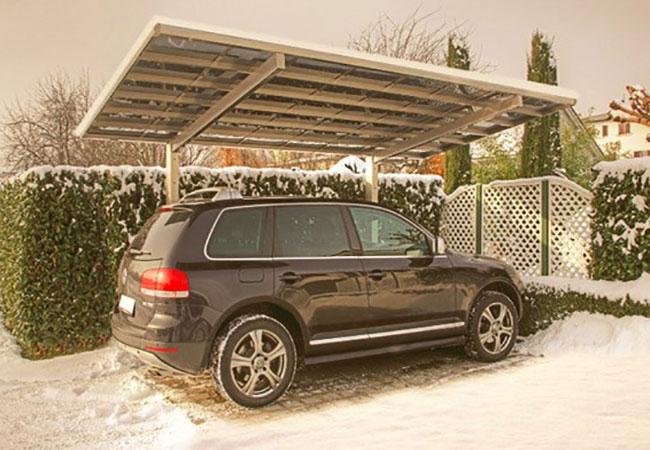 pergola pour voiture good abri toit plat pour voiture ilede france en bois douglas cpbf with. Black Bedroom Furniture Sets. Home Design Ideas